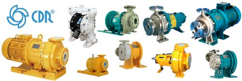 CDR centrifugal pumps