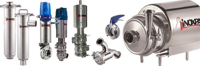 Inoxpa stainless steel pumps