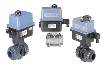 burkert actuated valves