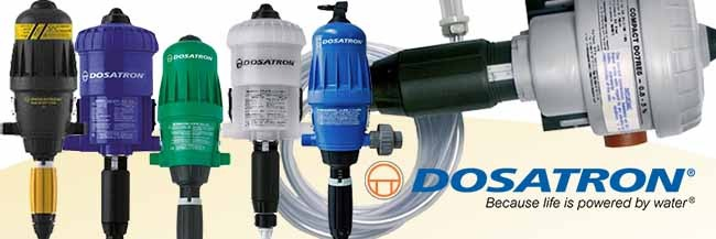 Dosatron water powered dosing pump